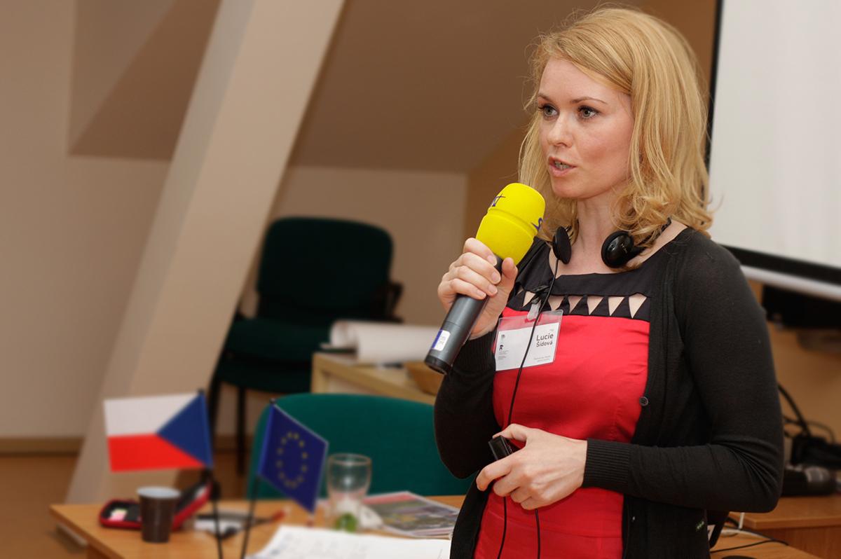 Mgr. Lucie Šídová, výkonná ředitelka - ROZKOŠ bez RIZIKA, z.s.